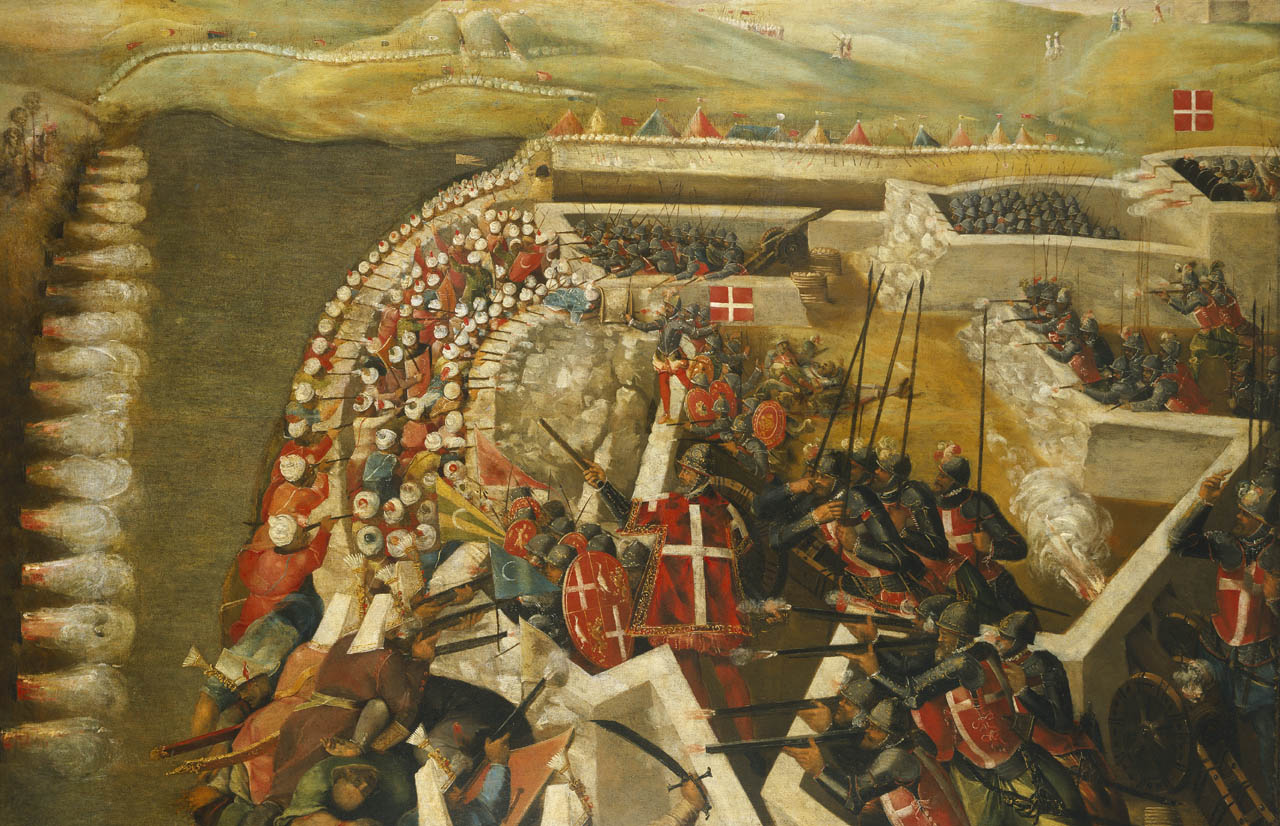 The Siege of Malta: Arrival of the Turkish Fleet: 20 May 1565