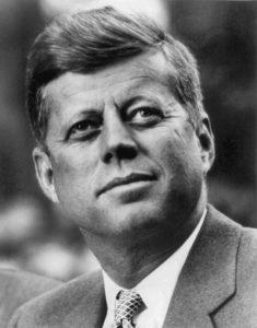 Portrait of President John F. Kennedy